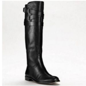 COACH💟Cayden Smooth Nappa Leather Riding Boot 6.5